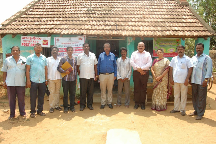 CPMG Visit dated 12-05-2015 to Devulapalli BO in Jangareddy Gudem of Eluru Dn