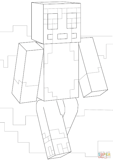 Minecraft Stampy Coloring Page Free Printable Coloring Pages On Stampy Long  Nose Coloring Page