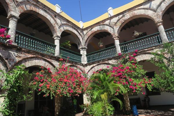 Monestary Courtyard 003