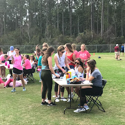 UNF Zeta Sorority Annual Flag Football Fundraiser for Breast Cancer 2/23/18