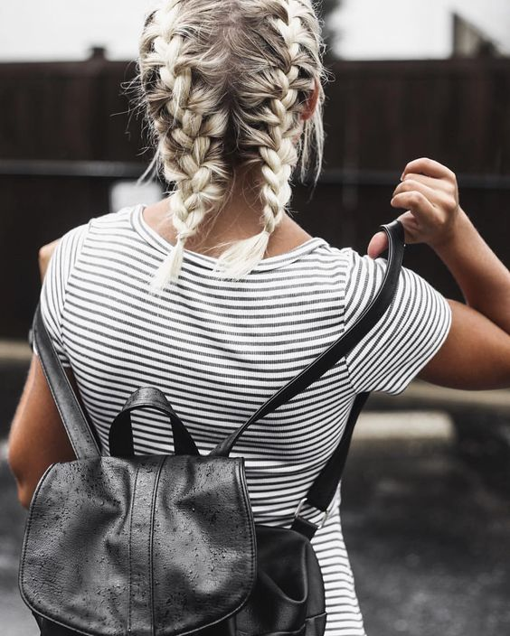 Braid for Short Hair :Style French Style Newest Ideas 2017 7
