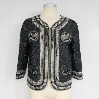 St. John Couture Metallic Jacket