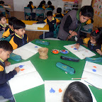 Onion Printing Activity done by sr.kg 2012-13