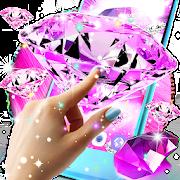 App Pink diamonds live wallpaper APK for Windows Phone