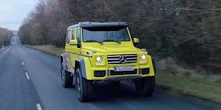 Mercedes G500 4x4 Squared