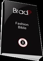 Cover of Brad P's Book Brad Fashion Bible