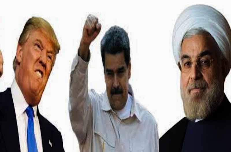 Donald Trump VS Hasan Ruhani and Nikolas Maduro