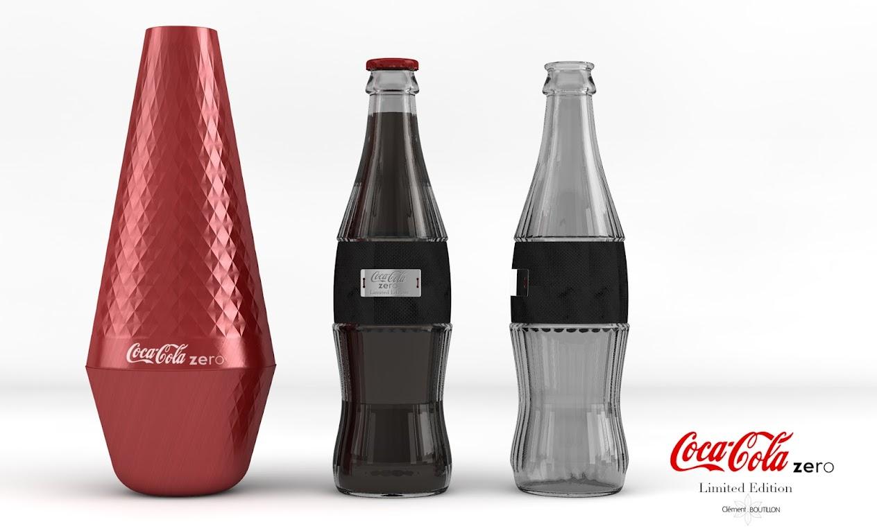 *低卡可口可樂曲線瓶:強調男女概念外型時尚設計! 2