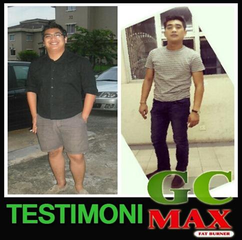 testimoni gc max fat burner