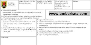 Download Silabus & RPP 1 Lembar Kelas 6 SD Tema 1 Revisi Terbaru Kurikulum 2013