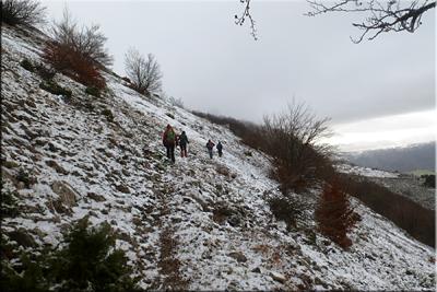 Rodeando el monte Allaitz
