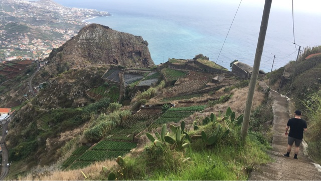 Top 10 things to do in Madeira - Walk from Cabo Girão down steps to Câmara de Lobos