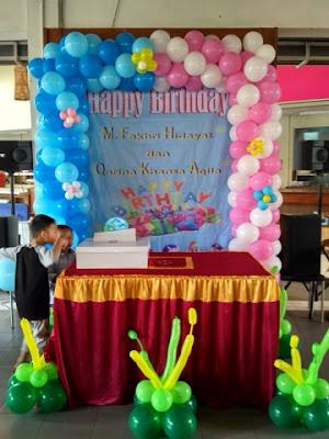 Balon dekorasi di tangerang