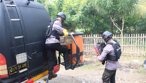 Tim Jibom Gegana Brimob Banten Berhasil Amankan Temuan Bom dan Amunisi Militer di Rumah Warga