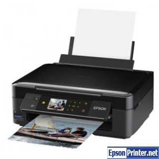 How to reset Epson XP-412 by program