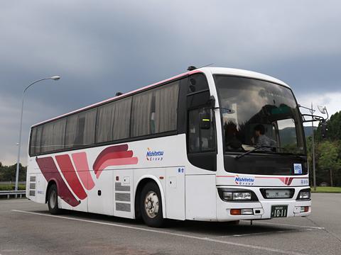 西鉄高速バス「桜島号」 9134 えびのPA休憩中 その2