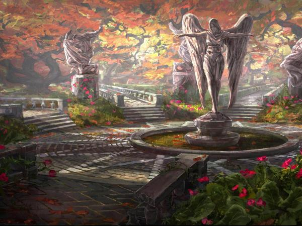 Statue Of Angel, Magical Landscapes 2