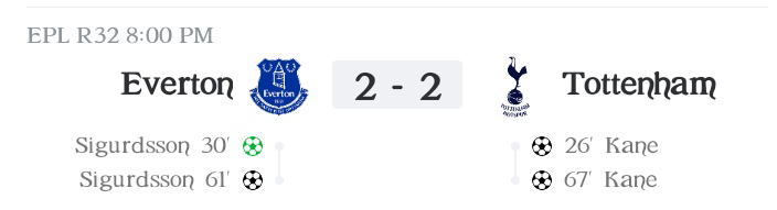 Premier League: Kane and Sigurdsson nets braces as Tottenham played a 2-2 draw against Everton (Highlights) 2020-2021