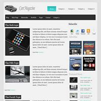 CarsMag Free Cars WordPress Theme
