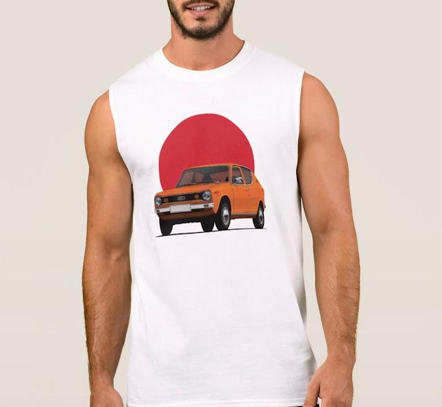 Datsun 100A classic cars t-shirts