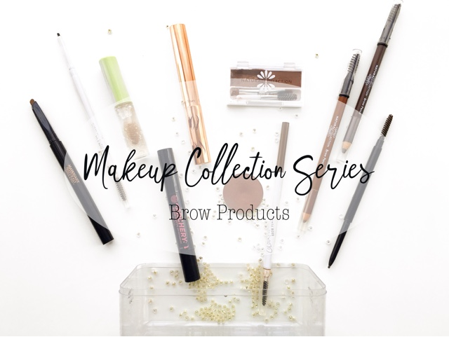 brow product collection, best brow products for dark sparse brows