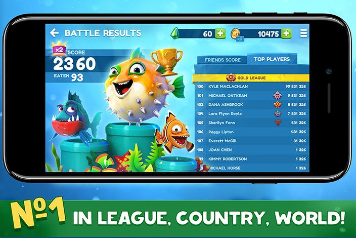 Fish Now: Online io Game & PvP - Battle- screenshot