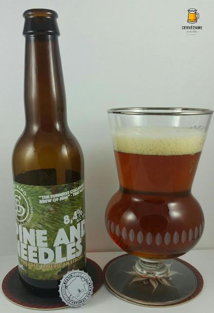 cerveza beer Uiltje / Sori - Pine and Needles cervezame