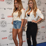 OIC - ENTSIMAGES.COM - Charlotte Crosby and Holly Hagan at the  Jeans for Genes Day 2015 - launch party in London 2nd September 2015 Photo Mobis Photos/OIC 0203 174 1069