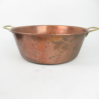 Copper Handled Basin