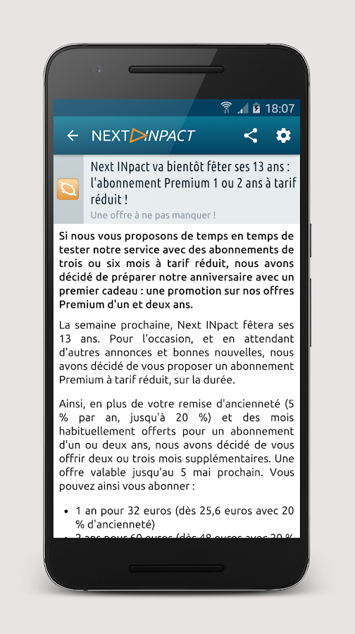 Next INpact – Capture d'écran