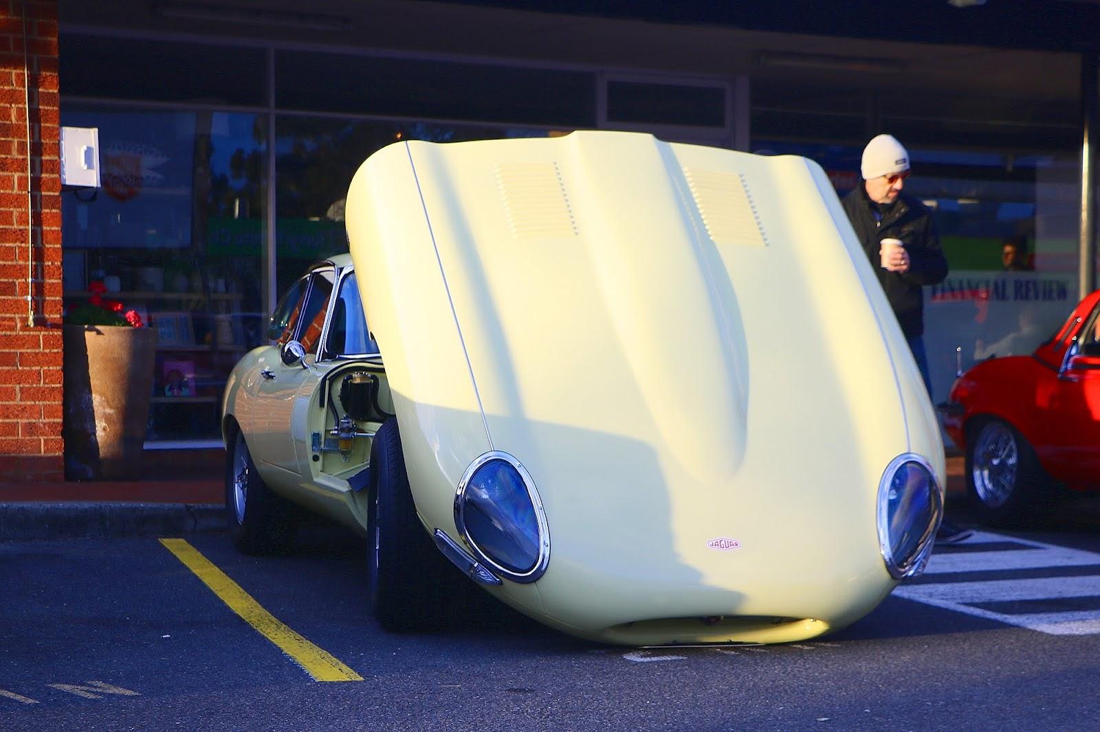 1964 Jaguar E-Type 3.8 Bonnet.jpg