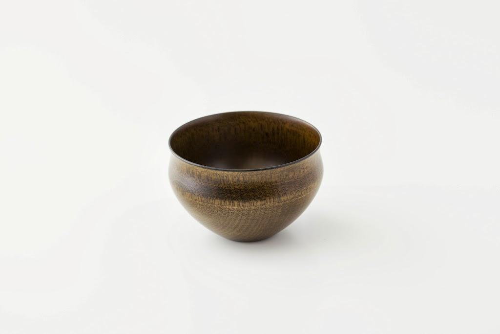 Lacquer Tea Bowl Suri-Urushi-wan (clear, round shape)