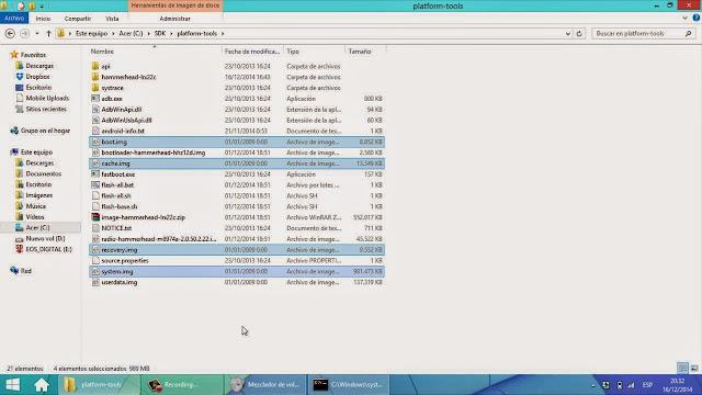 Actualizar manualmente un Nexus rooteado