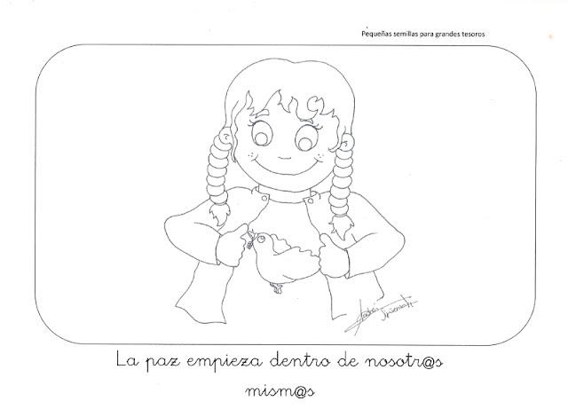 Dibujos De NiÑos Por Nacionalidades: Los Duendes Y Hadas De Ludi: Recursos Para Trabajar La Paz