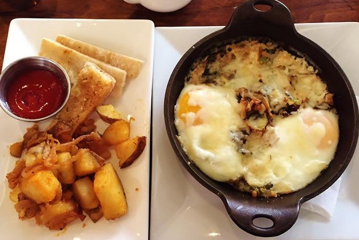 Elle Kitchen & Bar Classic Baked Eggs