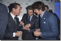 Stefano Accorsi;Patrick Dempsey;Andreas Albeck