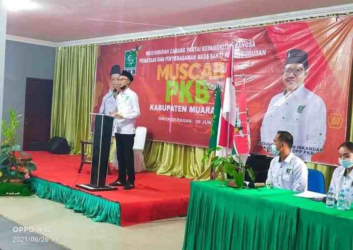 Muscab Di Gelar, PKB Targetkan 7 Kursi DPRD Kabupaten Muara Enim..