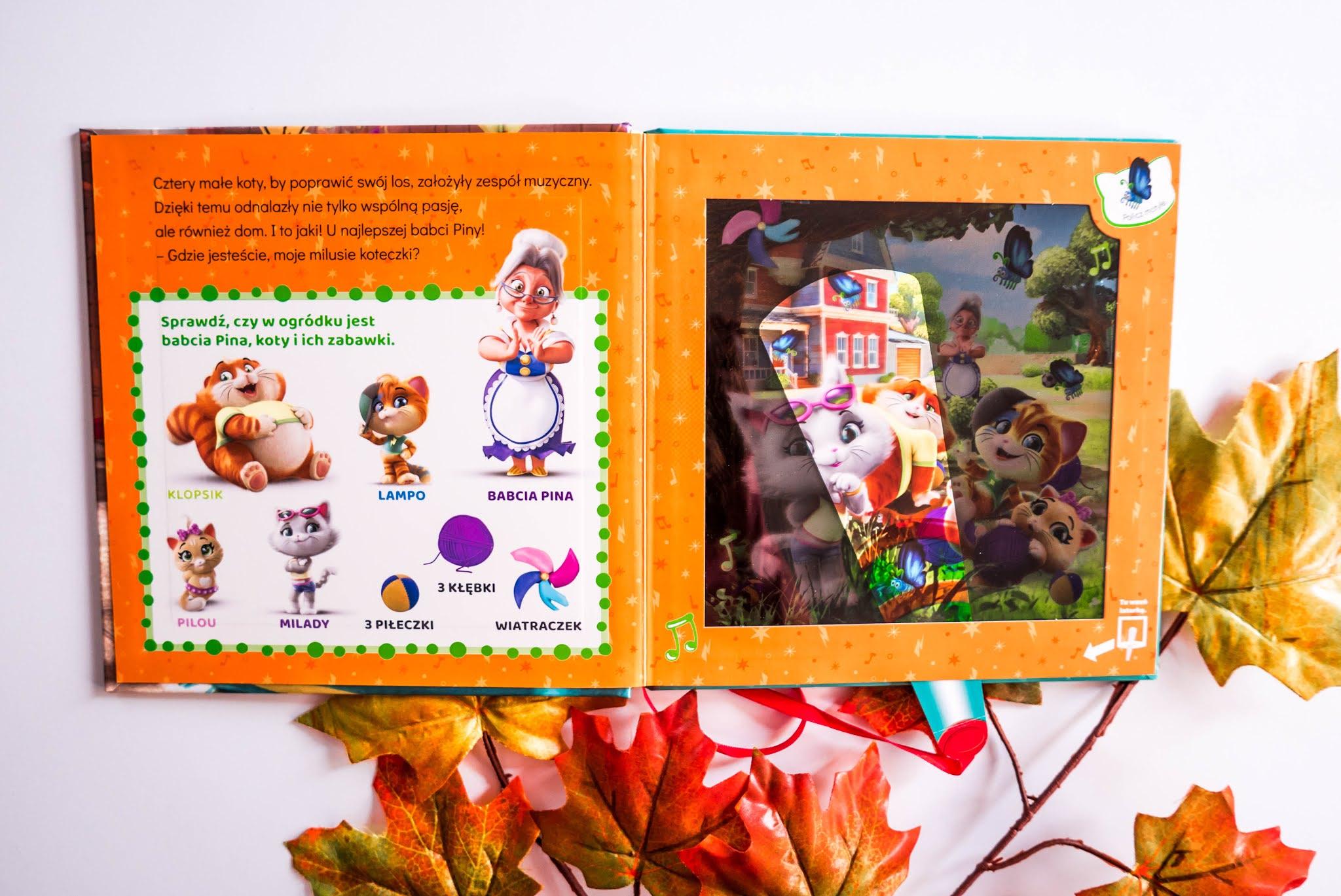magiczna książeczka dla dzieci
