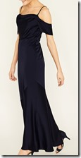 Oasis off the shoulder slinky maxi dress