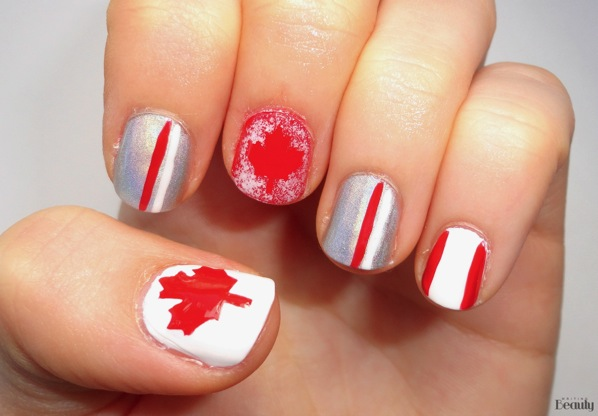 Canada Day Nail Art  Free Nail Stickers 2