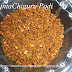 Chinta Chiguru Podi -- Tamarind Leaves Powder