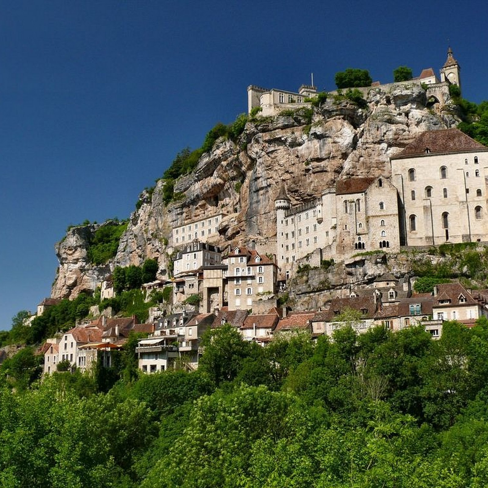 Rocamadour—The Vertical Village