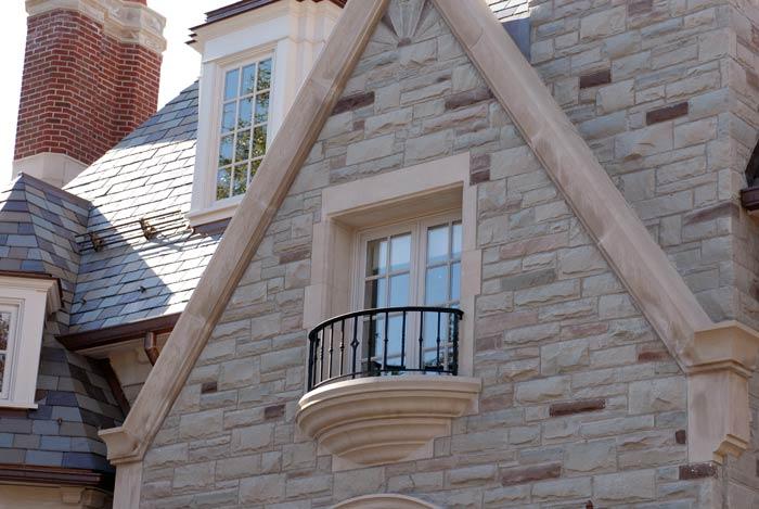 Complex Limestone Architecture