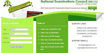 Neco-GCE-2017-results