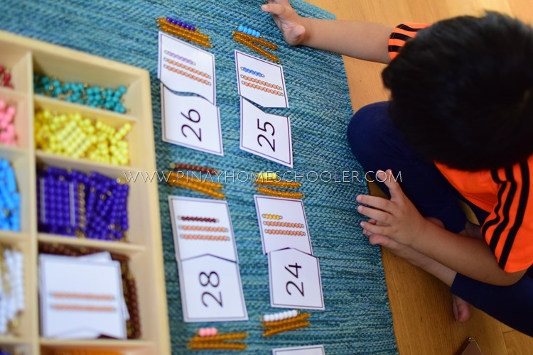 Bead Number Puzzles