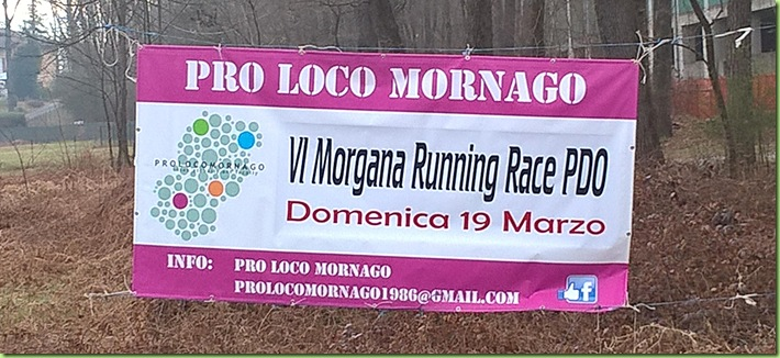 Morgana Running Race