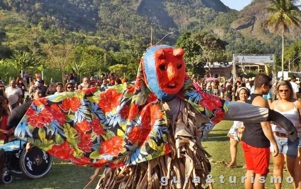 Carnaval de congo de Máscara em Roda D'água