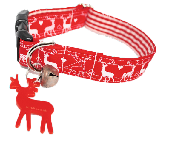 Christmas Dog Collars and Bandanas