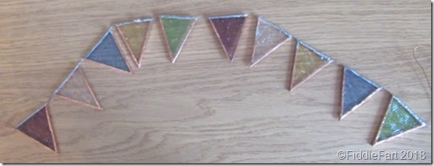 glass bunting
