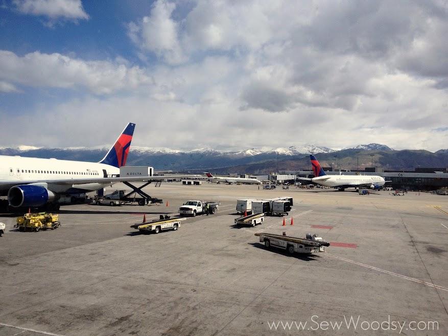 SNAP! 2013 Recap SLC Airport via SewWoodsy.com